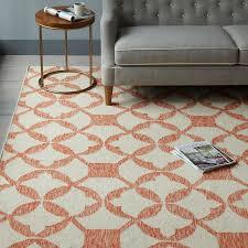 classy west elm kilim rug tile wool mandarin serbyl decor review pillow sofa ottoman teardrop ikat traced diamond metallic