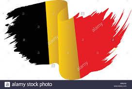 Belgium Flag Vector Symbol Icon Design Belgian Flag Color Stock