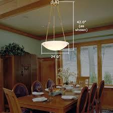 pendant lighting dining room table alabaster pendant lights dining room table how high to hang pendant