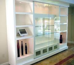 glass wall cabinet units marvellous mounted display cabinets with doors cream kitchen