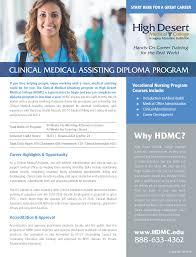 Clinical Medical Assisting High Desert Medical College