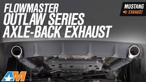Flowmaster Loudness Chart Flowmaster Outlaw Axle Back Exhaust 05 10 Gt Gt500