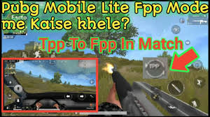 pubg mobile lite fpp mode settings ...