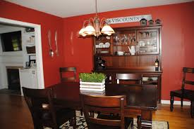 dining room home office. Red Dining Room, Makeover, Home Pottery Barn Furniture Room Office