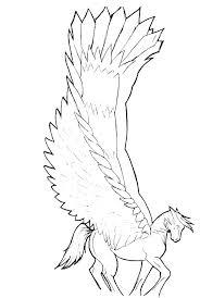 Pegasus Coloring Pages Image 0 Rosarioturismoinfo
