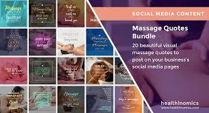 Massage Quotes Classy Massage Archives Healthinomics