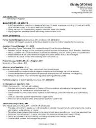 Examples Of Administrative Assistant Resumes Combination Resume For ...