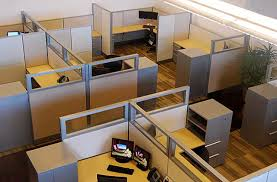 office with cubicles. Revitalize Your Office With Refurbished Cubicles