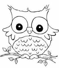 Small Picture Owl Coloring Pages Print Free Printable Cute Owl Coloring Pages