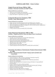 Clerical Resume Objectives Samples Of Clerical Resumes Dew Drops