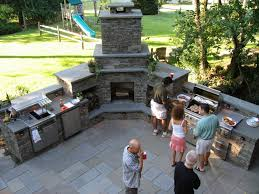 outdoor kitchen and fireplace manificent design outdoor kitchen with fireplace kitchens and fireplaces