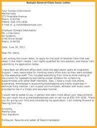 General Cover Letter Resume General Cover Letter Template Bitacorita
