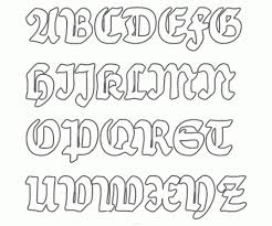 fancy calligraphy alphabet a z styles regarding