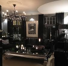 Amazing Design Black Living Room Appealing Living Room Interior Design Black  Room Decorating Ideas