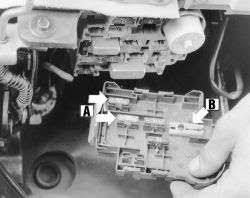 mazda b2300 fuse box location questions answers pictures where is the fuse for back up lights in the mazda