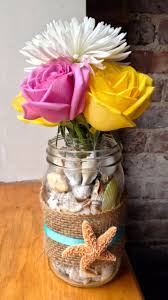 Decorating Mason Jars With Ribbon 100 Impressive DIY Mason Jar Vase Ideas You're Going To Fall In 71