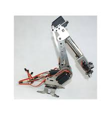 diy 6dof stainless steel robot arm 6 axis rotating mechanical robot arm kit