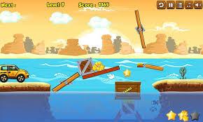 Wooden Bridge Game Build It Wooden Bridge game FunnyGamesbiz 50