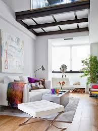 small loft furniture. Feminine And Cozy Small Loft 2 Furniture
