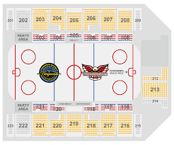 Carolina Seating Chart Seating Chart Carolina Thunderbirds
