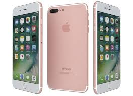 iphone 7 plus rose gold. apple iphone 7 plus rose gold 3d model max obj 3ds fbx wrl wrz mtl o