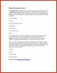 4+ sample resignation letter with reason effective immediately ...