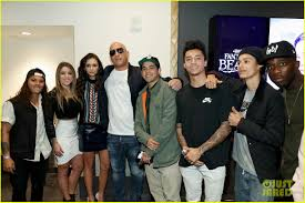 Vin Diesel Nina Dobrev Kick Off xXx Return of Xander Cage.