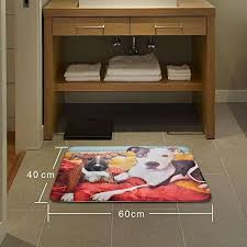 bath mat non slip kitchen rugs flannel pet rug dogs door carpets animal entrance floor mats
