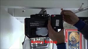 liftmaster garage door opener repairBattery Backup Garage Door Opener On Liftmaster Garage Door Opener