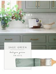 our top color palette trends spring 2017 sage green