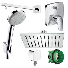 Hansgrohe Duscharmatur Set Unterputz Chrom 300 Ibox Set