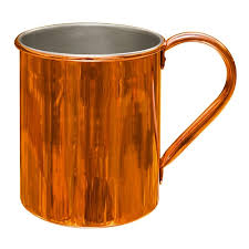 cleaning copper mugs