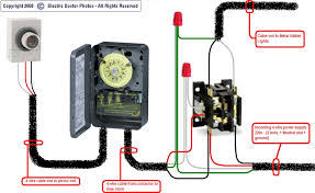 wiring diagram for photocell timeclock wiring diagram for i have 3 400 watt mh lights 208 volts that i want to have wiring diagram