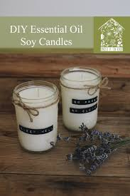 essential oil candles. Perfect Oil DIY Essential Oil Soy Candles  Under A Tin Roof Blog For A