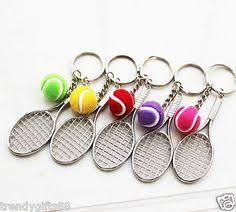 <b>400pcs Tennis bag Pendant</b> plastic mini tennis racquet key ring ...