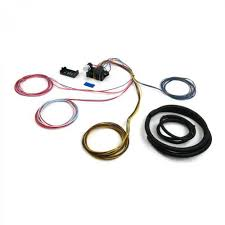 wiring kits for or sell auto parts wire harness fuse block upgrade kit for 66 70 fairlane stranded insulation xlpe