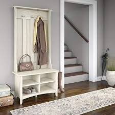 Hall Tree Coat Rack Storage Bench Enchanting Amazon By Home Design Entryway Hall Tree Coat RackWith