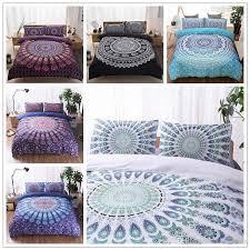 3d bedding sets queen size bohemian mandala bedding quilt duvet cover set sheet pillow cover bedding set gifts cca9053 quilt sets for boys girl comforter