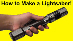 how to make a lightsaber diy