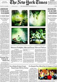 hipstamatic war photography on the front page of the new york times
