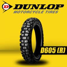 <b>Dunlop D605 4.10</b>-<b>18</b> 59P Tubetype Dual Action Motorcycle Tires ...