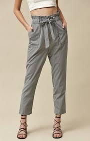 Pacsun Skirt Size Chart La Hearts Paper Bag Waistband Pants Pacsun Fashion