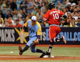 throwback Rays Uni Indians Watch For Fauxback Night And Last The