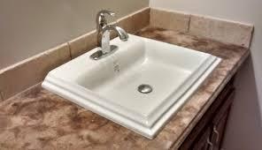 sink overmount undermount best faucets units tops top drop countertops small sinks p bathroom mount