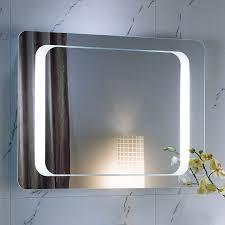 Design Backlit Bathroom Mirrors Led And Gorgeous Back Lighted