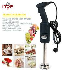 <b>ITOP</b> Commercial Heavy Duty Hand Immersion Blender Mixer <b>Food</b> ...