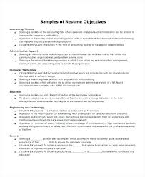 Resume Objective For Medical Field Entry Level Administrative