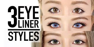 a plete by tutorial on how to do cat eye eyeliner types