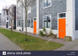 Orange front door Ideas Modern Residential Houses With Orange Front Door In Zwolle Netherlands Activerain Modern Residential Houses With Orange Front Door In Zwolle Stock