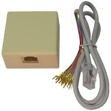 rj31x jack and 2 cord set w box technologies rj31x jack and 2 cord set